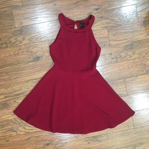 Women Rue 21 Red Halter Dress L